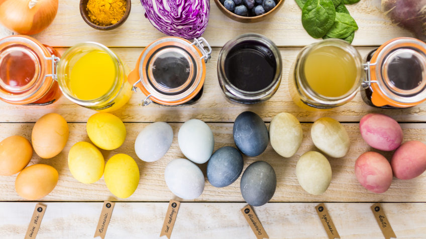 naturalne barwniki do jaj